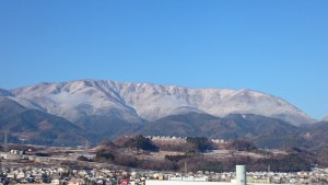 櫛形山20150116