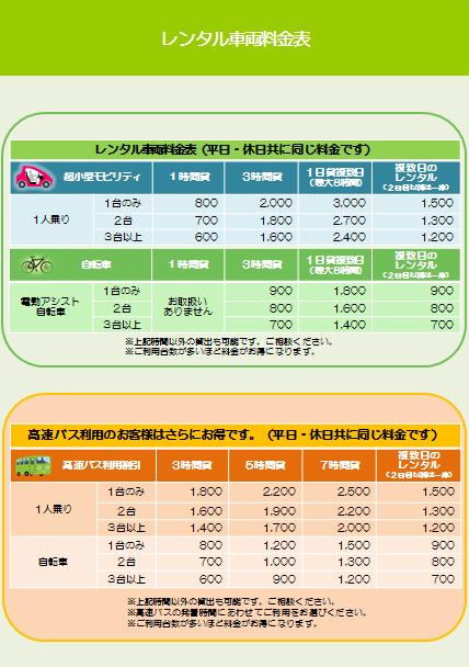 2016.1人乗り_自転車_新料金表