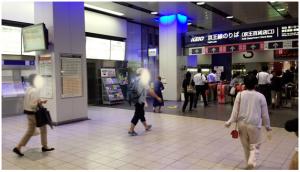 京王線改札写真
